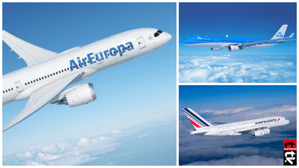 Alianza  Air Europa, Air France y KLM