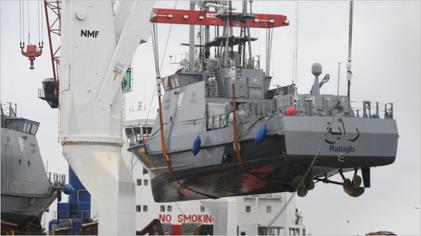 Küstenschutzboot aus Deutschland für Saudi-Arabien