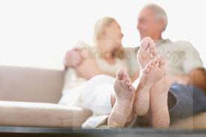 Los pies con la edad