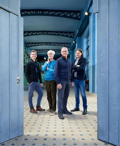 Daniel König, Martin Blaser, Ralf Geckeler und Jürg Scheidegger.