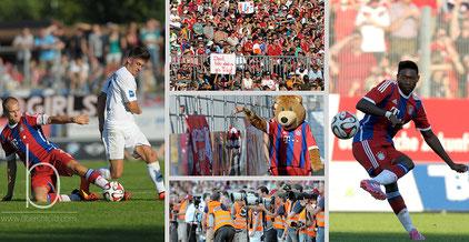 Der FC Bayern zu Gast in Memmingen