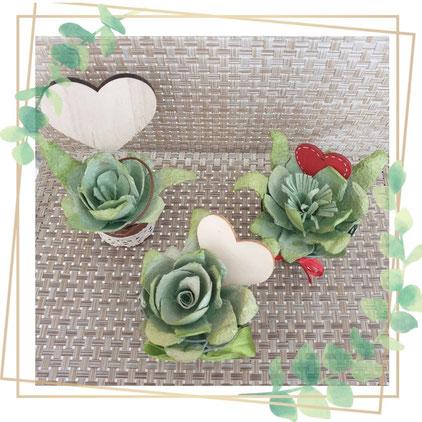 petit pot de fleur, Fleur pérenne Avec presque rien , recyclage, rénovation d'objet, Sciez, Thonon, Haute- savoie, Leman, créa terra, détournement d'oeuf, fleur éternelle, boîte d'œuf