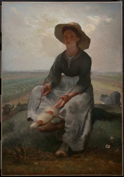 《羊飼いの少年》1870年