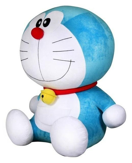 big doraemon plushie