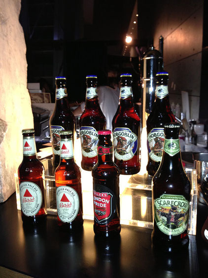 5 types of British Beer available Source: FASHION HEADLINE
