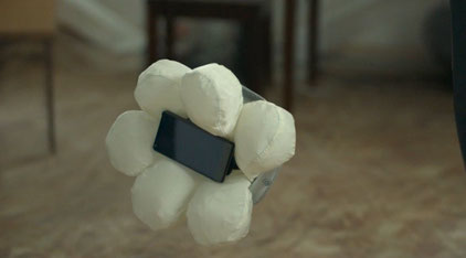 Airbag Smartphone case Source: Honda Motors