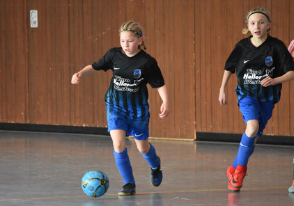 Timo-Heller-Cup 2017 Mädchenfußball Hallenturnier