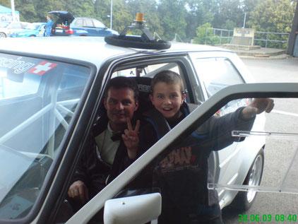 Chamblon 2009 mit Lukas