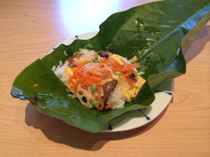朴葉寿司ランチ