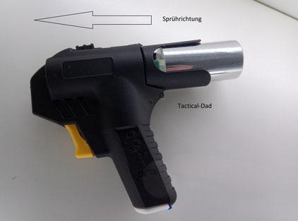 Etwas von innovativsten was ich je beim Pfefferspray gesehen habe ist der Piexon PSX Pro Reizstoffwerfer.