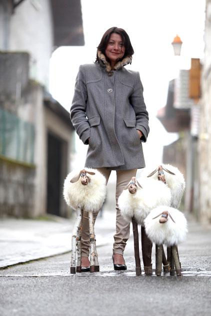 Veyrier du lac Adjie creation - Moutons