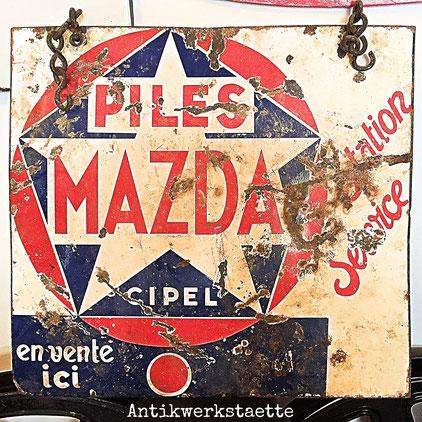 Mazda sign