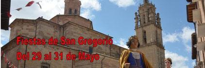 Programa de las Fiestas de San Gregorio en Los Arcos