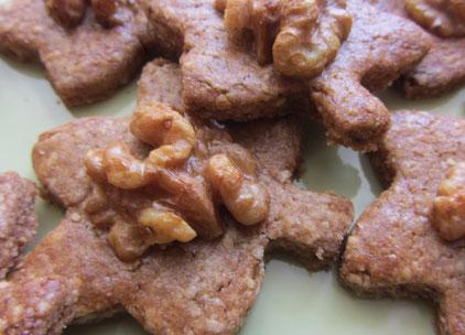 Heimische Superfood Cookies mit Kastanienmehl