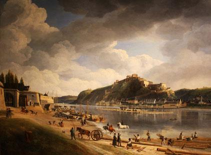 Johann Adolf Lasinsky Koblenz Ehrenbreitstein 1828