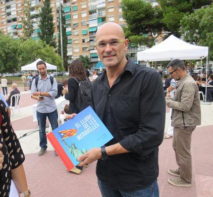 Raül Romeva, Cornellà  7 de setembre, es va trobar en una foto al Parlament Europeu, allà petit-petit, on ni jo l´havia vist.