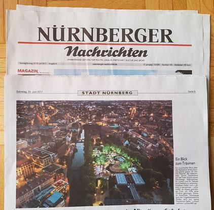 Drohnenaufnahmen Luftbild Drohnenbild Nürnberg