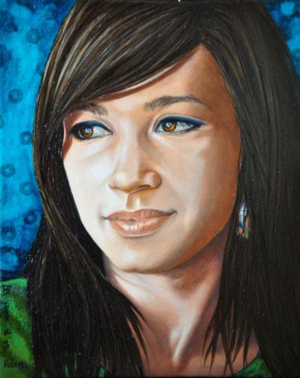art-femme-portrait-peinture-à-huile