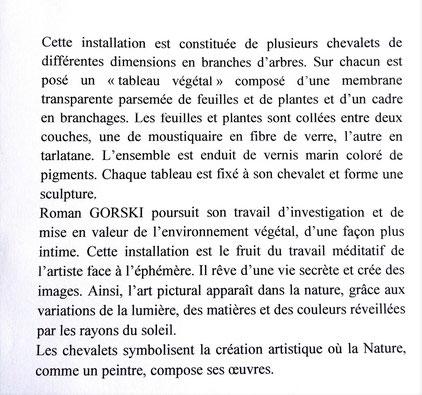 2013 - Lumières d'octobre, Les Carreaux, Ermont - Roman Gorski