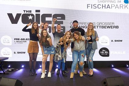 Die TeilnehmerInnen der 1. Show von THE VOICE 2018