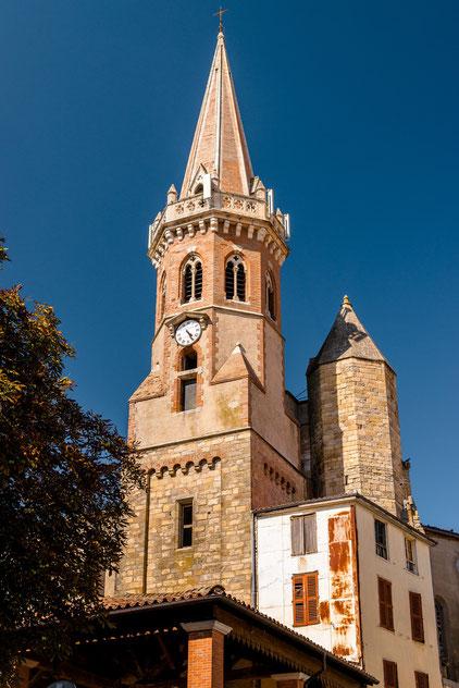 Puylaurens en Pays de Cocagne, protestantisme, Marianne, randonnées, Office de Tourisme