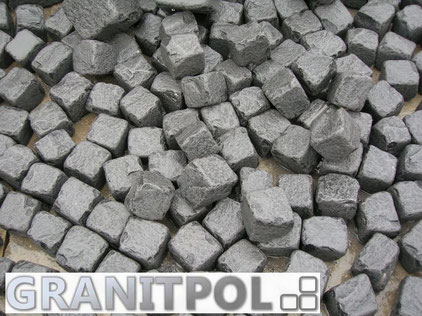 Granitpflaser Schwarzer Schwede