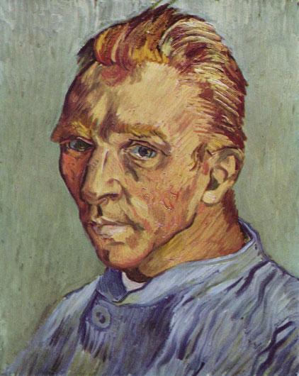 Портрет художника без бороды - Винсент Ван Гог. Самые известные картины Ван Гога