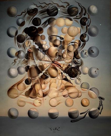 Самые известные картины Дали - Галатея со сферами