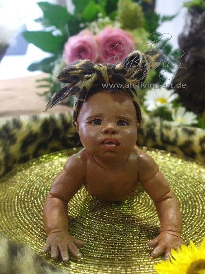 Mini Baby Ooak, Polymer Unikat Skulptur