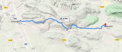 klick Karte an: Google Maps