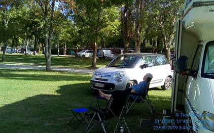 Campingplatz Blütengrund Naumburg
