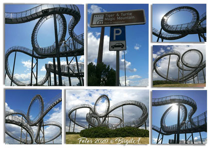 Route der Industriekultur: Magic Mountain, Duisburg (Fotos: © Birgit A.)