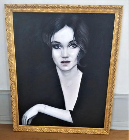 peinture-encadrement-or-moulure-portrait