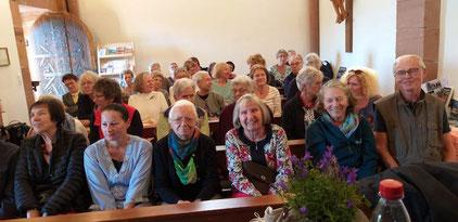 Full house in der Nikolauskapelle in Klingenmünster am 21.09.2019