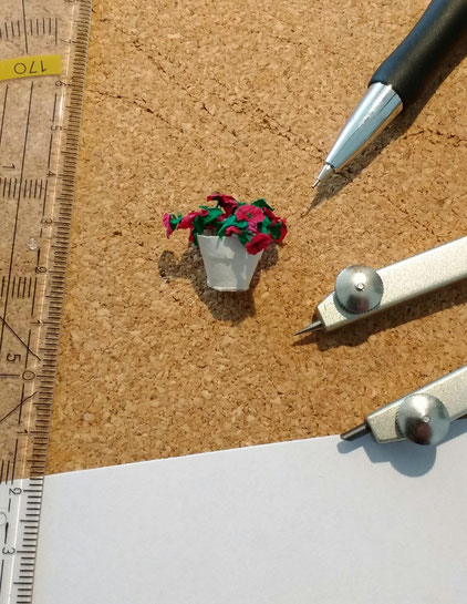 Mini-Blumentopf basteln