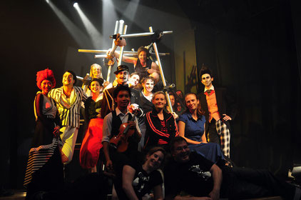 The cast and crew of Metamorphosis