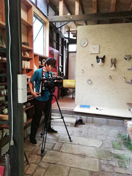 陶芸家 焼き物 陶器 土鍋 撮影 ドキュメンタリー 茨城県笠間市 女性陶芸家 ブログ