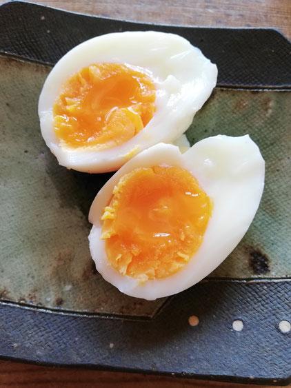 陶芸家 ブログ 茨城県笠間市 土鍋 料理 時短料理 卵料理 煮卵 エッグタイマー 半熟卵