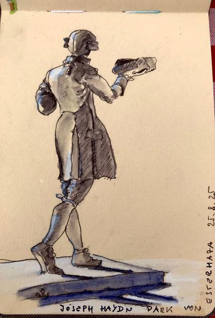 Birgit Lippeck_Joseph Haydn_Statue