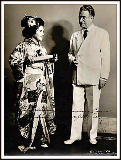 Sharpless in Madama Butterfly di G. Puccini - con Irma Gonzales