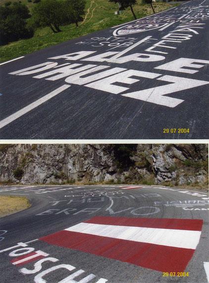 Hinauf auf den Klassiker der Tour de France - nach Alpe d´Huez