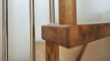 Strebel Holzbau Holztreppe