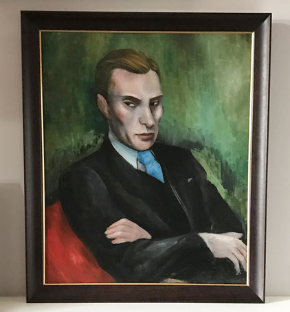 Bloomsbury group period portrait of a young man