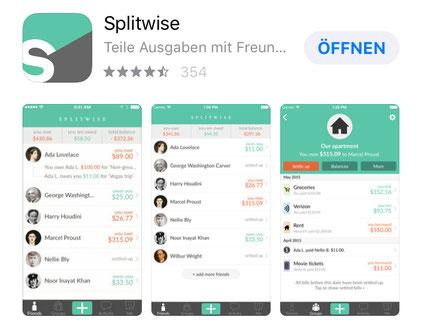 App Splitwise
