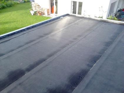 2 Fach mit Dachpappe verschweisst