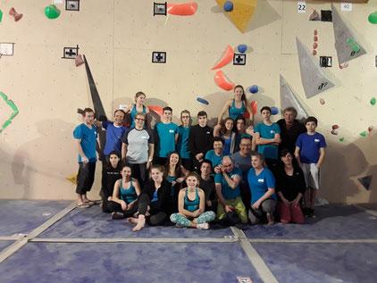 Championnat départemental de bloc - 20 janvier 2019 - Germignac