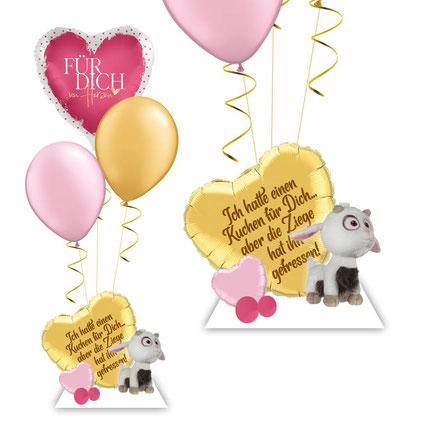 Ziege Minion Ich einfach unverbesserlich 3 luftballons Bouquet Geschenk Geburtstag für dich Idee