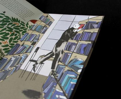 """Kinderbuch von Susa Monteiro, Autorin und Illustratorin, Sammlung """"A minha Cidade"""", Pato Lógico"""