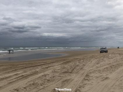 Strandsnelweg Fraser Island