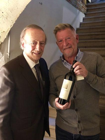 Miguel A. Torres, een iconische wijnbouwer.